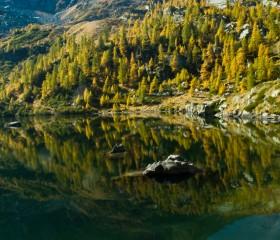 Lago di Frudière inferiore